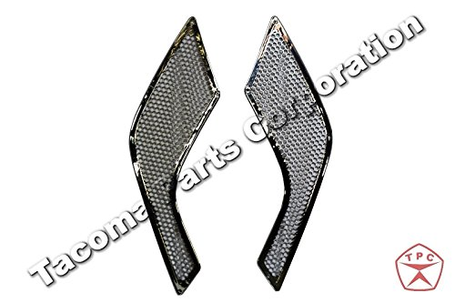 Volvo VNL Grille Hood Mesh - Outer Chrome Trim Set - Air Intake (Intake Trim)