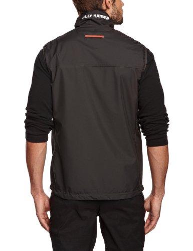 Crew Hansen Negro Helly Vest para hombre Chaleco wqndHdY5