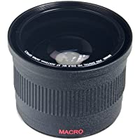 Bower VLB4272B High-Speed Wide-Angle Lens with Macro 0.42x 72mm for Canon, Nikon, Sony, Olympus and Pentax Lenses with 72mm filter thread