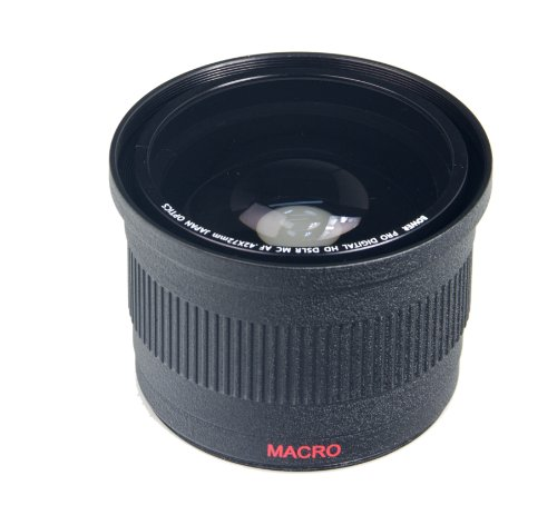 Bower VLB4272B High-Speed Wide-Angle Lens with Macro 0.42x 7