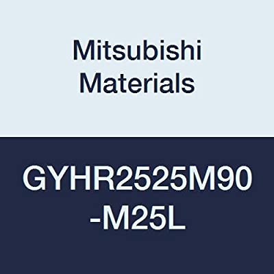 Mitsubishi Materials GYHR2525M90-M25L GY Modular Type Face Grooving Holder with Left Hand M25 Modular Blade 150 mm Length 12 mm Grooving Depth 25 mm Height 90/° Angle Right Hand 25 mm Width