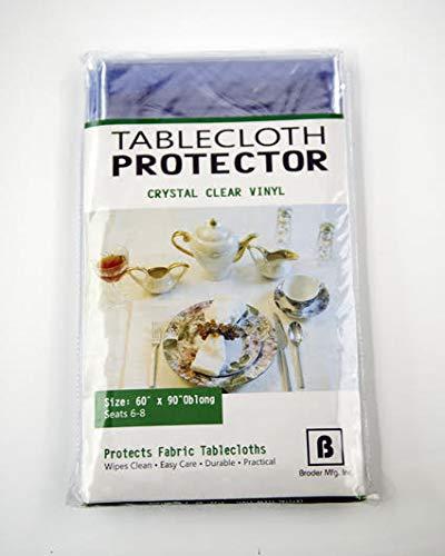 Tablecloth Protector Crystal Clear Vinyl (60