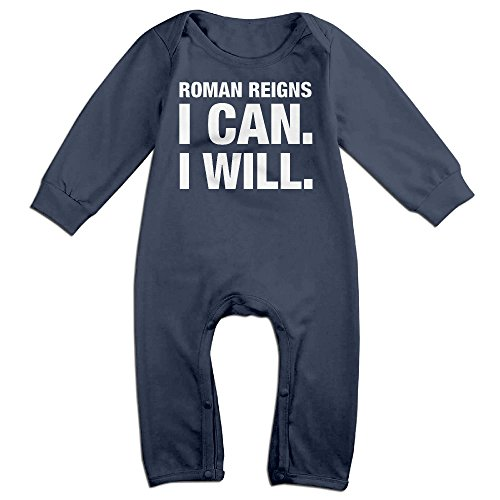 HOHOE Boy's & Girl's I Can I Will Long Sleeve Outfits 6 M