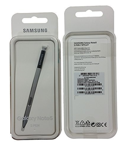 Original Replacement Stylus (OEM Original Authentic Samsung Galaxy Note 5 S Pen Stylus Replacement Spare - New in Retail Packaging - Black)