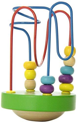 Manhattan Toy Wobble A Round Beads Green