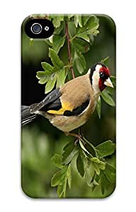 iPhone 4 4S Case Branches Birds 3D Custom iPhone 4 4S Case Cover
