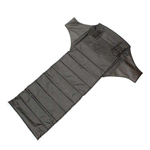 Redneck Convent Black Shooters Mat Padded Roll Up Mat