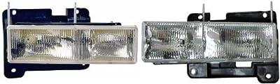 88-98 Chevy Silverado/GMC Sierra Headlights GM2503101 & GM2502101