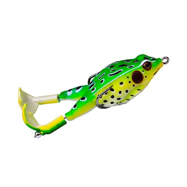 Mayyoohe 3D Artificial Surface Frog Fishing Lure