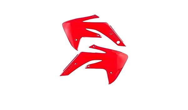 Red Acerbis 07-19 Honda CRF150R Radiator Shroud Set