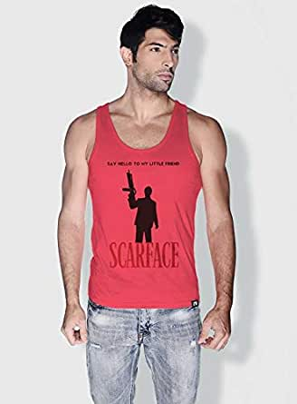 Creo Scarface Movie Posters Tanks Tops For Men - M, Pink