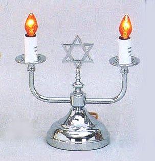 Electric Shabbat Lamp