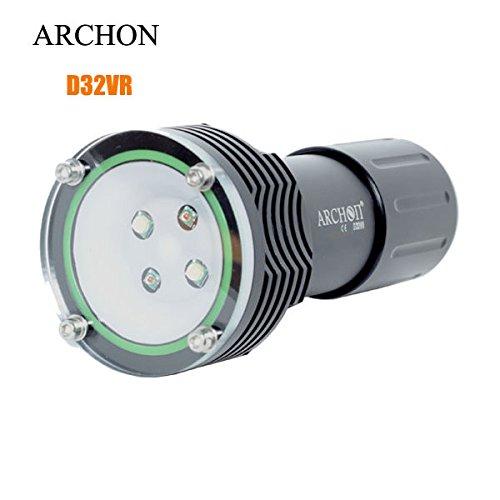 Bazaar ARCHON D32VR 100M 4x LED Fotografie Tauchen LED Taschenlampe