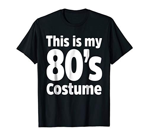 80s Costume Shirt for 1980s Theme Clothes Dance Party