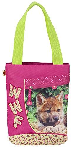 Franco Cosimo Panini Editore Jungen Mädchen WWF Tasche Shopping, Wolf