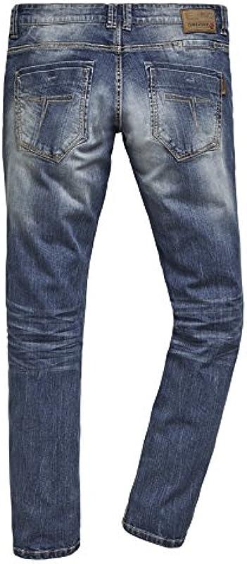 Timezone Męskie dżinsy Regular Gerrittz Straight: Odzież