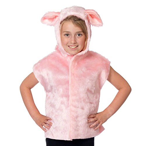 Charlie Crow Pig Costume for kids. One Size 3-9 Years. ()