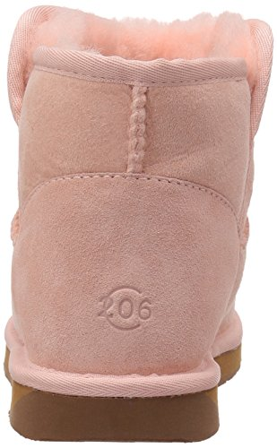 Suede Women's Ankle Pink Boot 206 Bellevue Collective Shearling 5YOWA60n