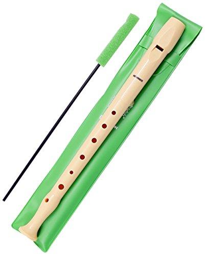 Hohner-Melody-9508-Flauta-de-plstico-color-marrn