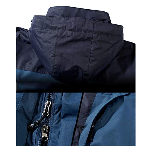 Antimanchas Extraíble Caliente De 3 Viento Para 1 Hombre Coat Prueba De De Montaña Con Red Capucha Chaqueta En A Chaqueta Ski Escalada Impermeable LDZY STUOqw