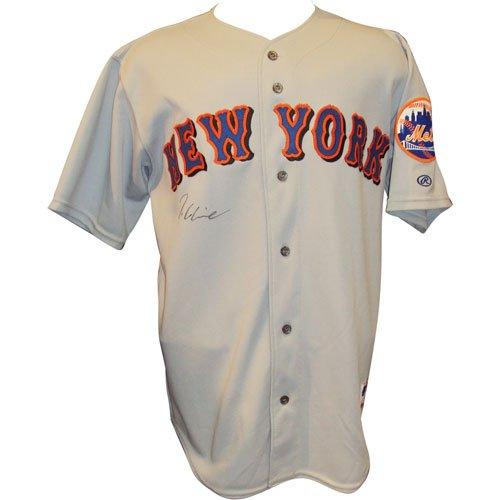 (Tom Glavine Autographed New York Mets Grey Jersey)