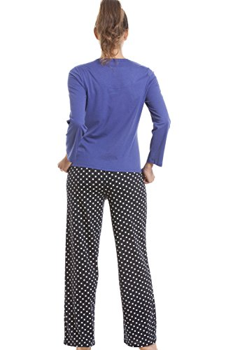 Conjunto de pijama con terrier escocés - Azul vaquero Azul