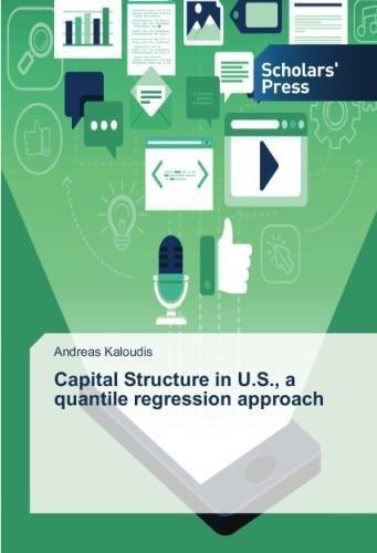 Capital Structure in U.S, a quantile regression approach