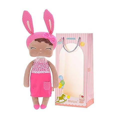 Pl/üsch Hase Fee Babypuppe Gef/üllte H/äschen Grau Kleid Geschenke Spielzeug mit Geschenkt/üte 2tlg Me Too Babypuppe M/ädchen Geschenke