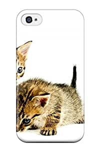 Faddish Phone Cat Case For Iphone 4/4s / Perfect Case Cover
