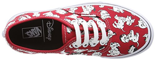 Authentic Basses Baskets Red Vans Dalmatians Mixte Rouge Disney Enfant Ewdxxq