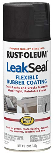 - RUST-OLEUM 265494 12 oz Black Leak Seal Spray