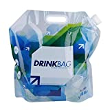 T-best Litres Collapsible Water Container, Portable Folding Water Storage Lifting Bags,Litres Collapsible Water Container for Outdoor Sports