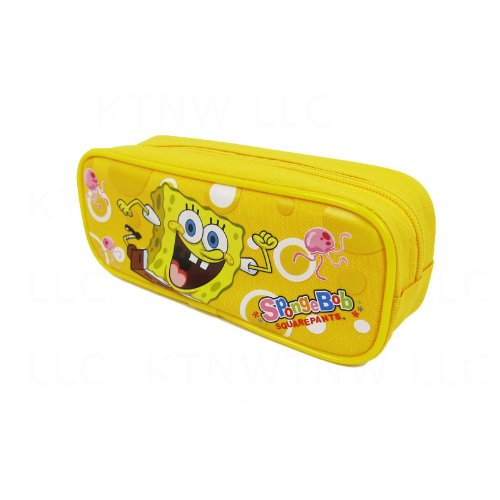 Spongebob Squarepants Toy Box (Officially Licensed SpongeBob Squarepants Single Zipper Pouch Pencil Case - SpongeBob and Jellyfish)
