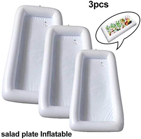 Taoke Picknick-EIS-Wanne im Freien aufblasbare Kaltes Getränk Lagercontainer Inflatable Buffet Cooler Inflatable Salatbar Fach - Halten Cooler (20pcs) (Größe: 10 Stück) dongdong (Size : 20pcs)