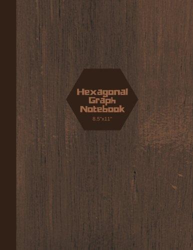 Hexagonal Graph Notebook 8.5