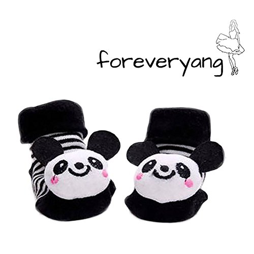 foreveryang-unisex-baby-cute-3d-cartoon-short-sock-slipper-shoe-bootie-panda
