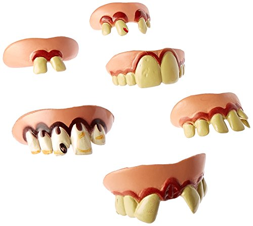 JA-RU 23538 Jokes and Gags Funny Teeth Party Favor Bundle Pack Novelty