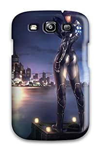 Top Quality Case Cover For Galaxy S3 Case With Nice Ghost In The Shell Appearance