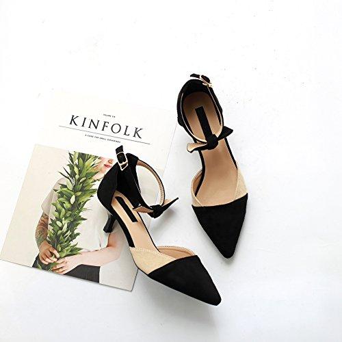 Chaussures Talons Court Bout Mariage De Bal Mariée De Bretelles Haute Stiletto Ruiren De Femmes Pointu Chaussures Abricot nX5Zf11Yx