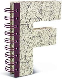 Alphabooks Note Books Letter F