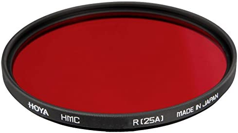 HOYA 55mm RED 25A PHOTOGRAPHIC LENS FILTER
