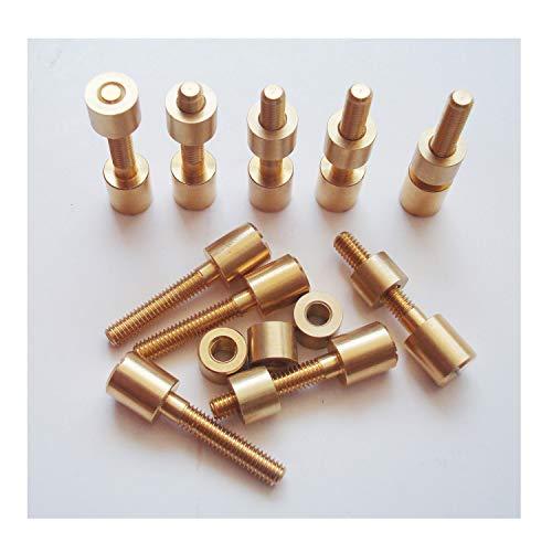 Rivet Handle Brass - 10 Sets/lot Screw Fasteners for Knife Maker,5/16