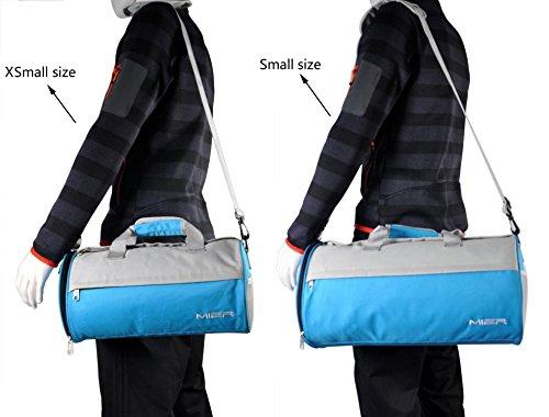 7c8ca7cec6e4 MIER Barrel Travel Sports Bag for Women and Men Small Gym Bag ...
