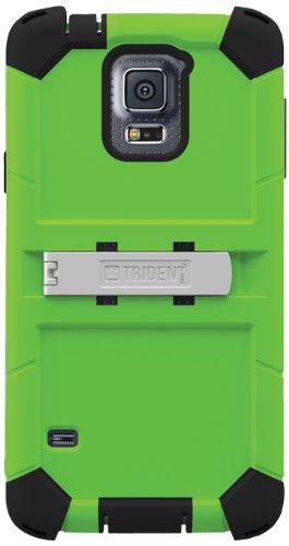 Trident Kraken AMS Series Case for Samsung Galaxy S5 - Retail Packaging - Green