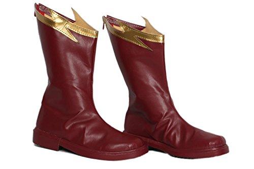 Superheld Cosplay Laarzen Flash 4 Kostuum Schoenen Halloween Accessoires Rekwisieten