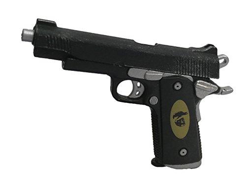 Figure Accessories Mini Guns Robocop Murphy HD1012 Pistol Gun Handgun Mini Model (Mini Robocop)