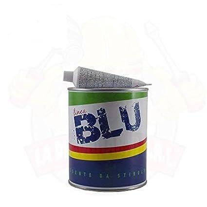 Mastice Senza Stirene per Marmo Liquido Paglierino Kg.1, 250 - Linea Blu - Ilpa