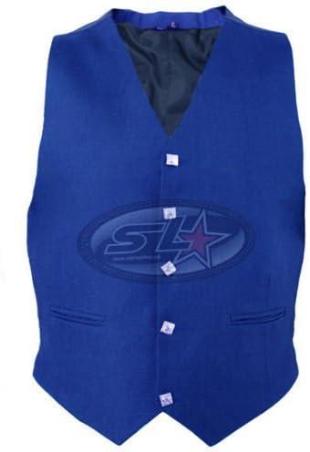 New Handmade Mens Scottish Argyle /& Prince Charlie Waistcoat//Vest in 6 Colours