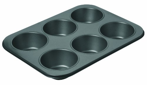 Tin Cup 6 (Chicago Metallic Professional 6-Cup Non-Stick Muffin Pan, 14-Inch-by-10.25-Inch)