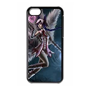 HD Beautiful image for iPhone 5c Cell Phone Case Black league of legends character HOR9896213